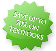 Save up to 70% on textbooks